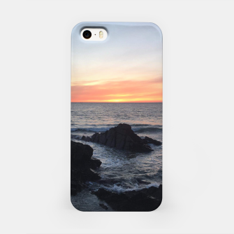 Sunset over Putsborough iPhone Case thumbnail image