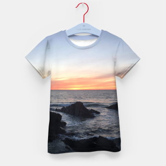 Thumbnail image of Sunset over Putsborough Kid's t-shirt, Live Heroes
