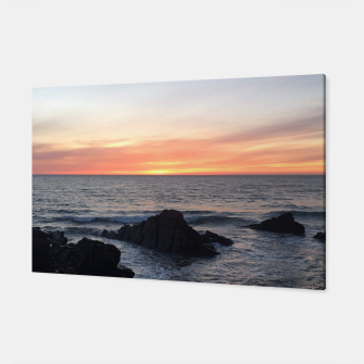 Thumbnail image of Sunset over Putsborough Canvas, Live Heroes