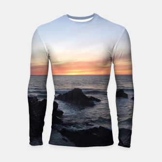Thumbnail image of Sunset over Putsborough Longsleeve rashguard , Live Heroes