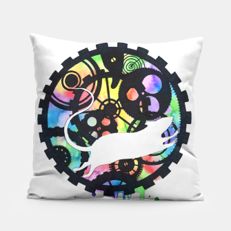 Thumbnail image of clockmaker Pillow, Live Heroes