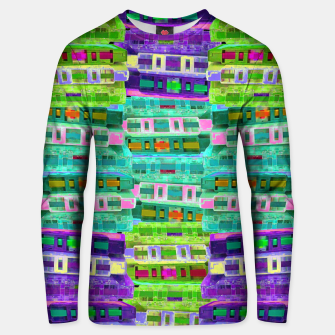 Thumbnail image of Fluoro Cassette Stacks Unisex sweater, Live Heroes