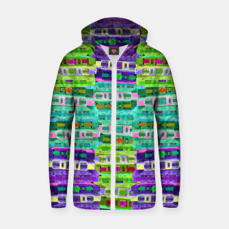 Thumbnail image of Fluoro Cassette Stacks Zip up hoodie, Live Heroes