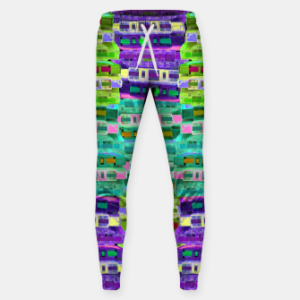 Thumbnail image of Fluoro Cassette Stacks Sweatpants, Live Heroes