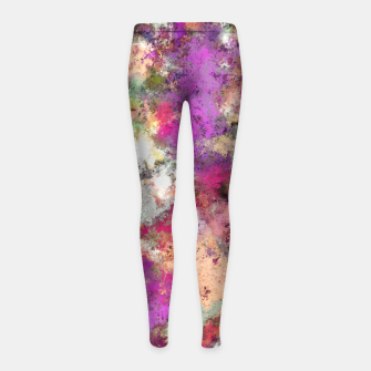 Thumbnail image of Debris Girl's leggings, Live Heroes