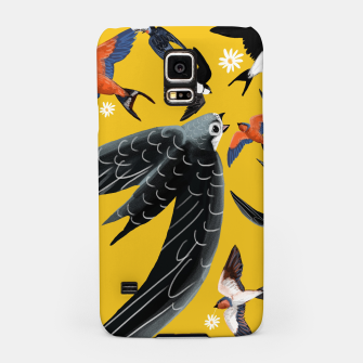 Thumbnail image of Swallows and swift Carcasa por Samsung, Live Heroes