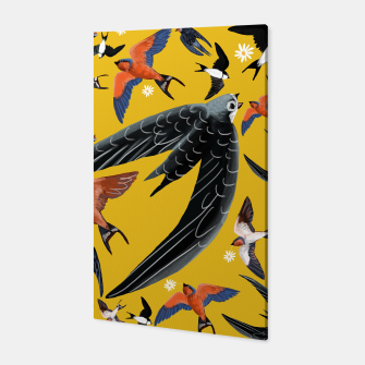 Miniatur Swallows and swift Canvas, Live Heroes