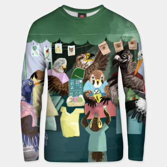 Thumbnail image of A day in the market Sudadera unisex, Live Heroes
