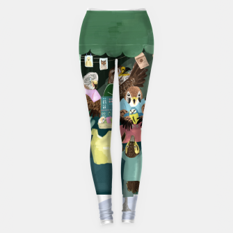 Miniatur A day in the market Leggings, Live Heroes