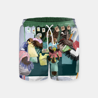 Thumbnail image of A day in the market Pantalones de baño, Live Heroes
