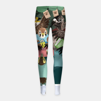 Miniaturka A day in the market Leggings para niña, Live Heroes