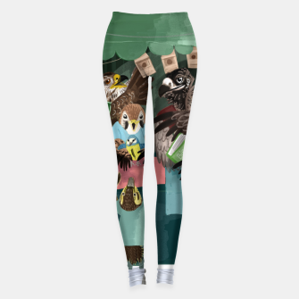 Thumbnail image of A day in the market Leggings, Live Heroes