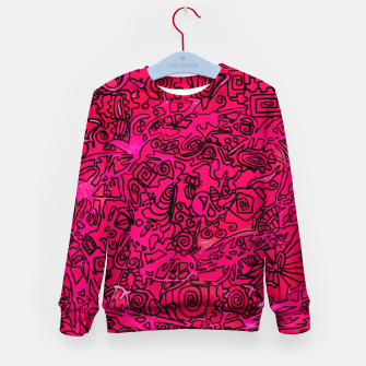 Thumbnail image of Pinkblack - LEMINX Kid's sweater, Live Heroes