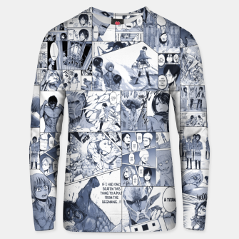 Miniatur Attack on Titan S1 Unisex sweater, Live Heroes