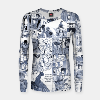 Miniatur Attack on Titan S1 Women sweater, Live Heroes