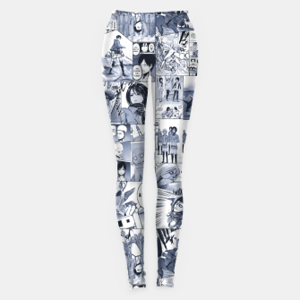 Miniatur Behind the walls Leggings, Live Heroes