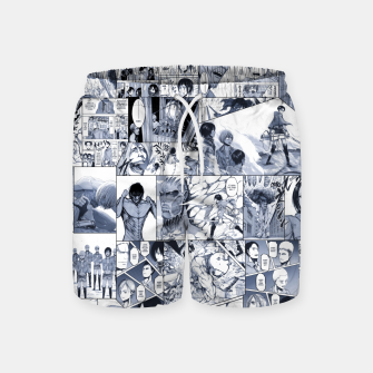 Miniatur Attack on Titan S1 Swim Shorts, Live Heroes