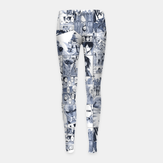 Miniaturka Behind the walls Girl's leggings, Live Heroes