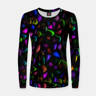 Thumbnail image of Dark Peacock Pebbles (LH037) Women sweater, Live Heroes