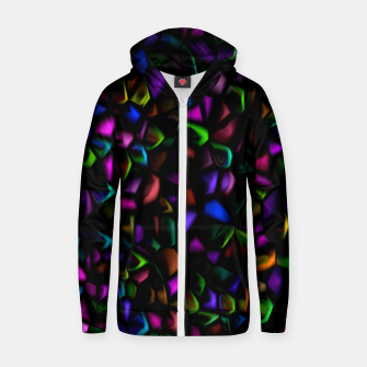 Miniatur Dark Peacock Pebbles (LH037) Zip up hoodie, Live Heroes