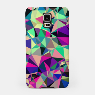 Thumbnail image of Purple Blue Fuchsia Geometric Polygons (LH001) Samsung Case, Live Heroes