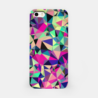 Imagen en miniatura de Purple Blue Fuchsia Geometric Polygons (LH001) iPhone Case, Live Heroes