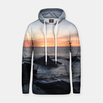 Thumbnail image of Sunset over Putsborough Hoodie, Live Heroes