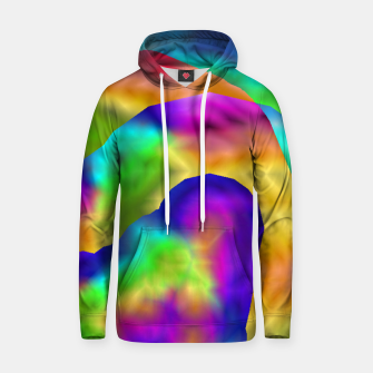 Thumbnail image of Hurricane Rainbow Weather Map (LH020) Hoodie, Live Heroes