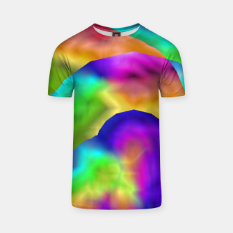 Thumbnail image of Hurricane Rainbow Weather Map (LH020) T-shirt, Live Heroes
