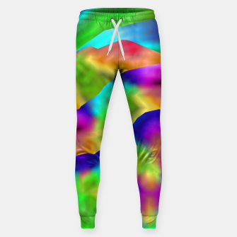 Thumbnail image of Hurricane Rainbow Weather Map (LH020) Sweatpants, Live Heroes