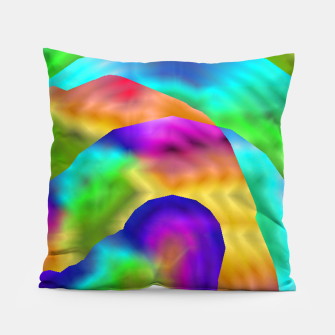 Thumbnail image of Hurricane Rainbow Weather Map (LH020) Pillow, Live Heroes