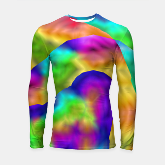 Thumbnail image of Hurricane Rainbow Weather Map (LH020) Longsleeve rashguard , Live Heroes