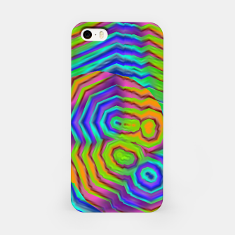 Imagen en miniatura de Geometric Abstract Neon Gradients (LH018) iPhone Case, Live Heroes