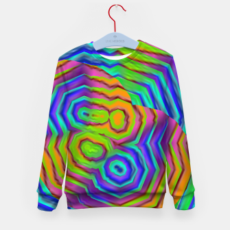 Imagen en miniatura de Geometric Abstract Neon Gradients (LH018) Kid's sweater, Live Heroes
