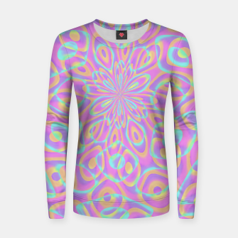 Miniaturka Pretty Pink Acid Trip (LH022) Women sweater, Live Heroes