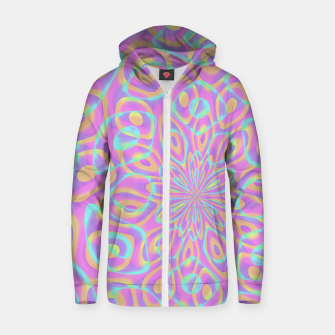 Miniatur Pretty Pink Acid Trip (LH022) Zip up hoodie, Live Heroes