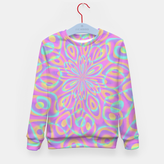 Miniaturka Pretty Pink Acid Trip (LH022) Kid's sweater, Live Heroes