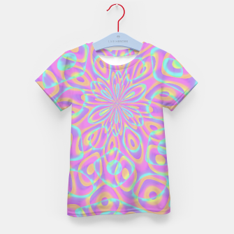 Thumbnail image of Pretty Pink Acid Trip (LH022) Kid's t-shirt, Live Heroes