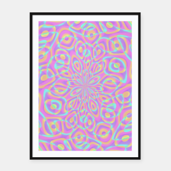 Thumbnail image of Pretty Pink Acid Trip (LH022) Framed poster, Live Heroes