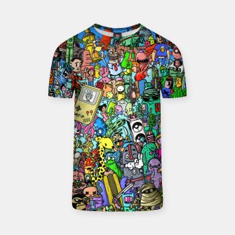 Imagen en miniatura de color party Camiseta, Live Heroes