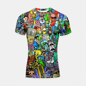 Imagen en miniatura de color party Shortsleeve rashguard, Live Heroes