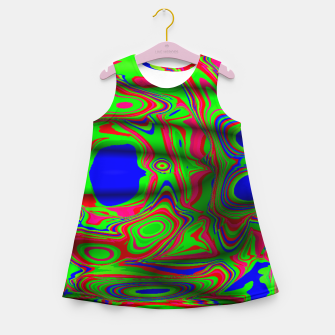 Thumbnail image of Good or Bad Acid Trip (LH061) Girl's summer dress, Live Heroes