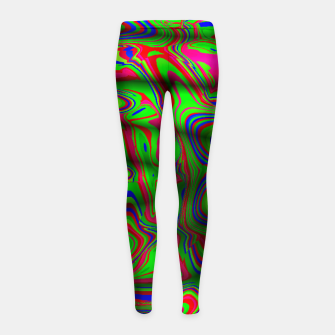 Thumbnail image of Good or Bad Acid Trip (LH061) Girl's leggings, Live Heroes