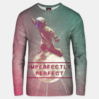 Miniaturka Imperfectly Perfect Unisex sweater, Live Heroes