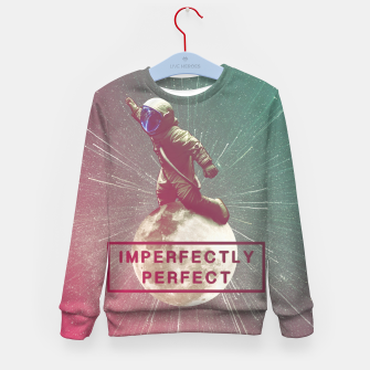 Miniatur Imperfectly Perfect Kid's sweater, Live Heroes