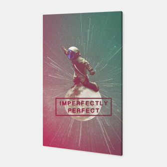 Miniatur Imperfectly Perfect Canvas, Live Heroes