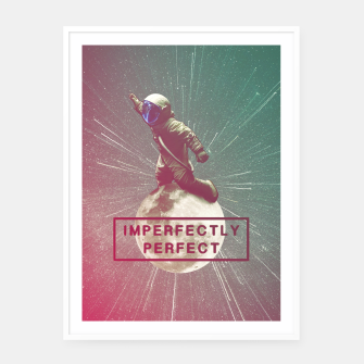 Miniaturka Imperfectly Perfect Framed poster, Live Heroes