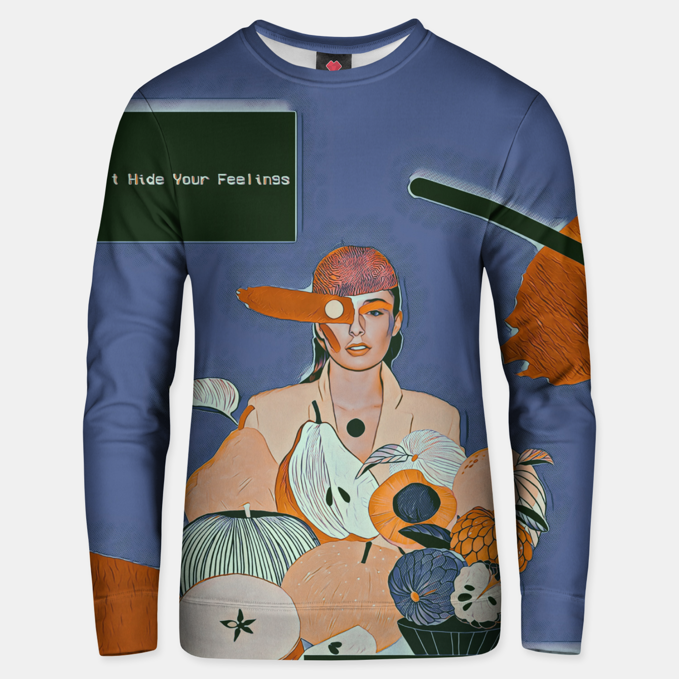 Image of Don't hide your feelings Unisex sweater - Live Heroes