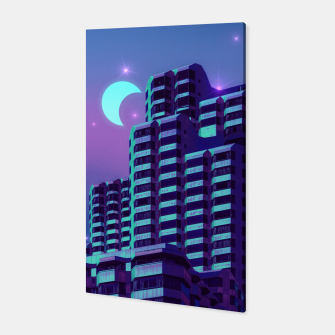 Miniatur Midnight City Canvas, Live Heroes