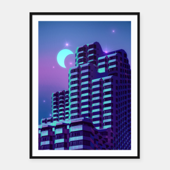Miniatur Midnight City Framed poster, Live Heroes